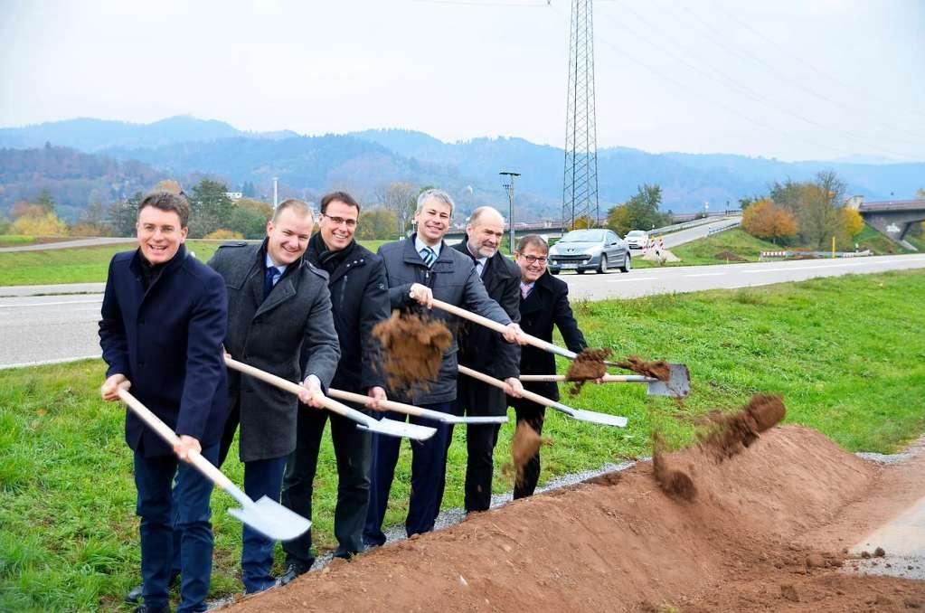 Der Ausbau bei Berghaupten hat begonnen - Offenburg - Badische Zeitung