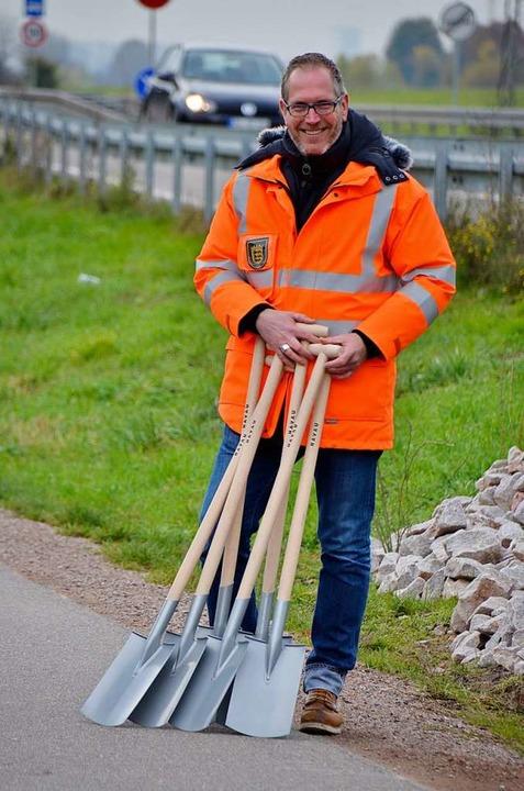 B-33-Ausbau-Projektleiter Daniel Heili...Straßenbauamt des Regierungspräsidiums  | Foto: hrö