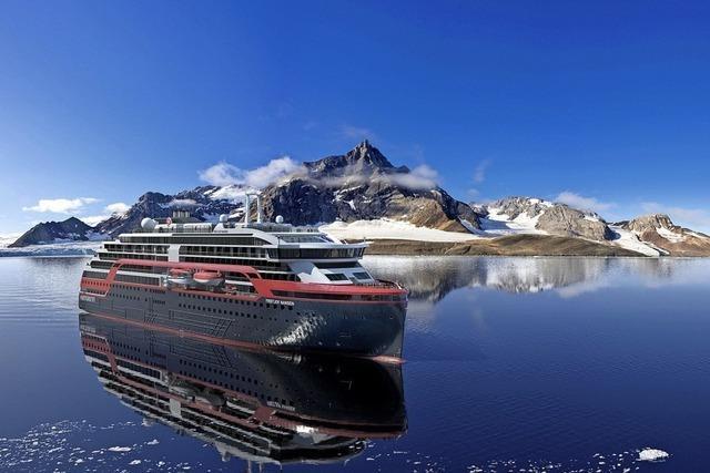 Mit dem Hybridschiff auf Expedition