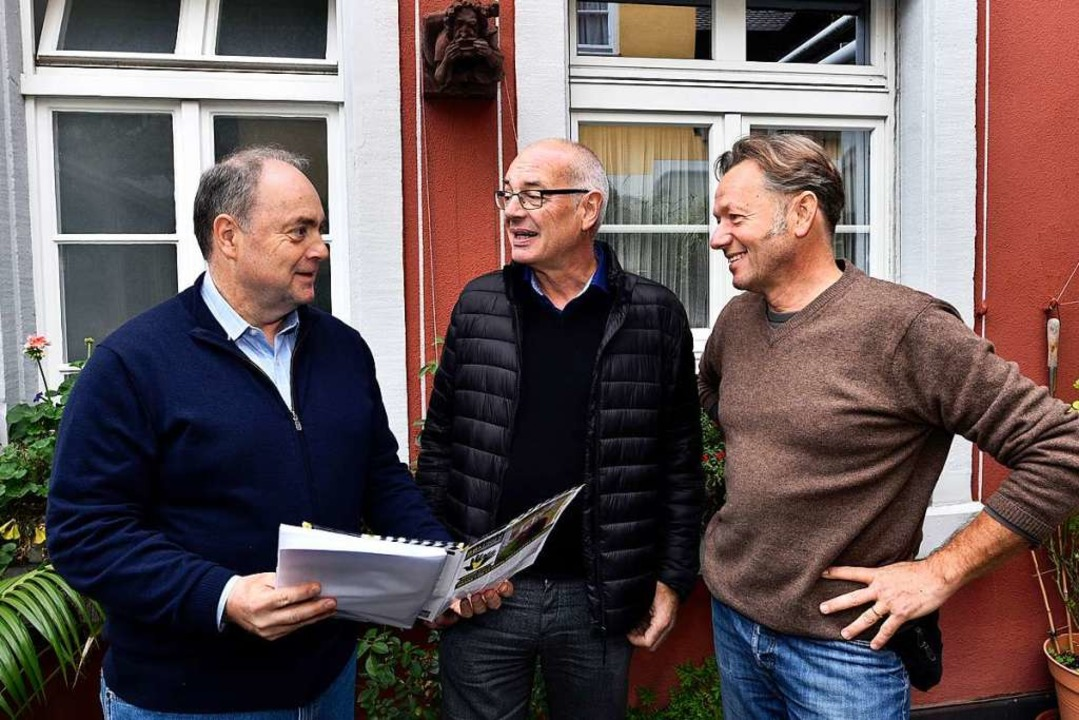 Christian Himmelsbach vom Verein &#822... ebenfalls einen neuen Träger bekommt.  | Foto: Thomas Kunz