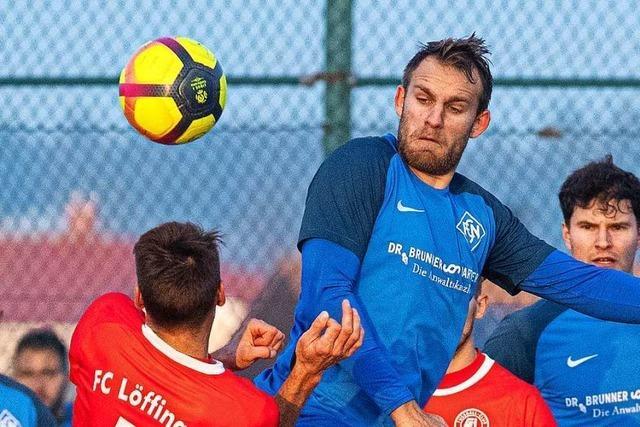 Die roten Raketen des FC Löffingen zünden gegen den FC Neustadt nicht