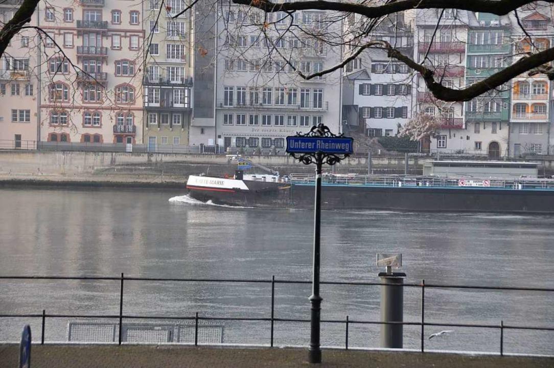 Der Rhein in Basel  | Foto: Daniel Gramespacher
