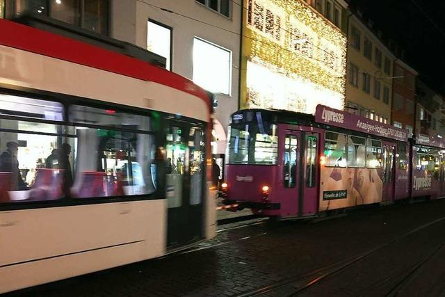 Liegengebliebene Tram legt Straßenbahnverkehr in Freiburg lahm