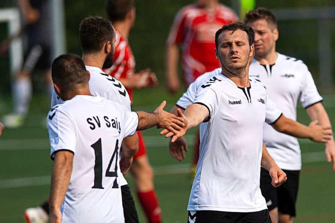 Viktor Schuchart erzielte das 1:0 für ... Unadingen-Dittishausen mit 5:3-Toren.  | Foto: Wolfgang Scheu