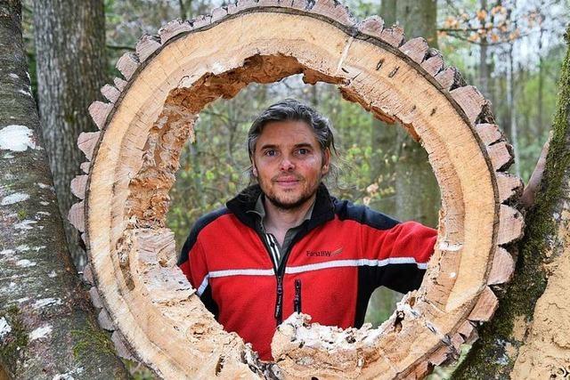 Der neue Vörstetter Revierförster Bernd Nold setzt auf Waldpädagogik