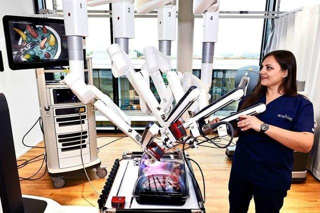 OP-Roboterhersteller Intuitive Surgical setzt auf Südbaden