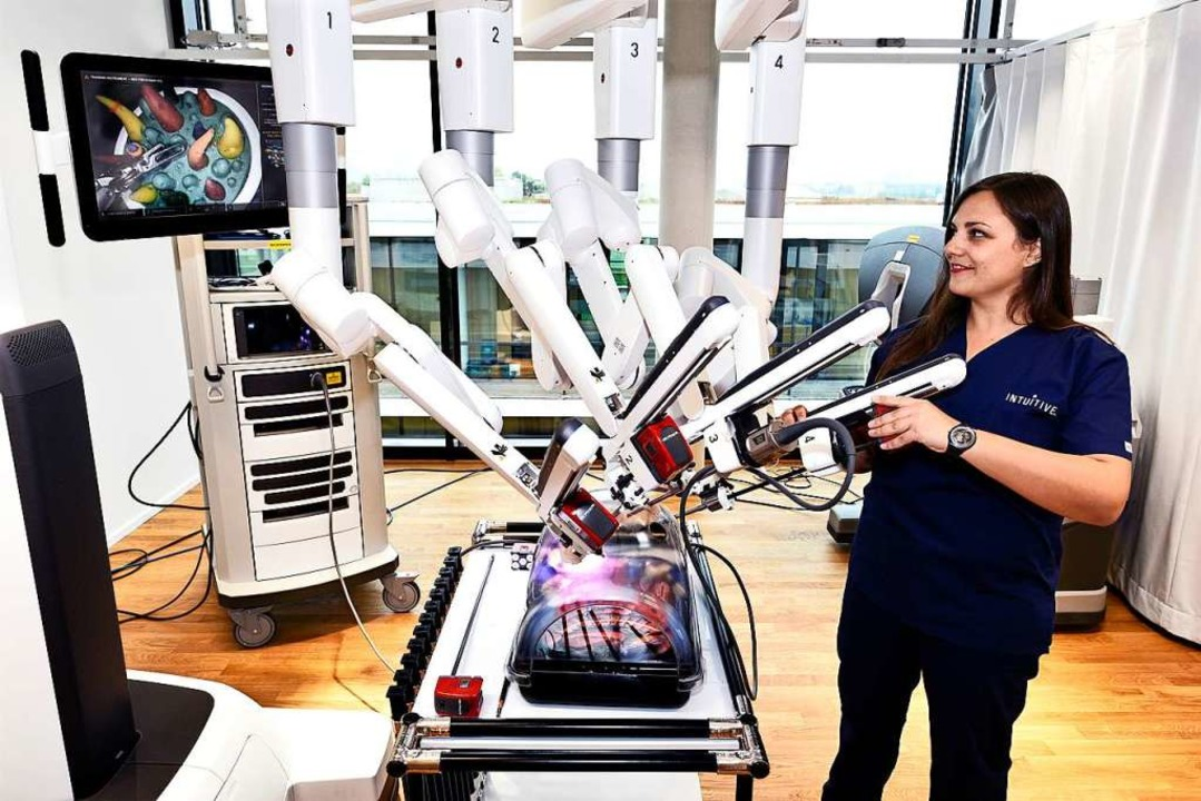 Ein Da-Vinci-System von Intuitive Surgical  | Foto: Thomas Kunz