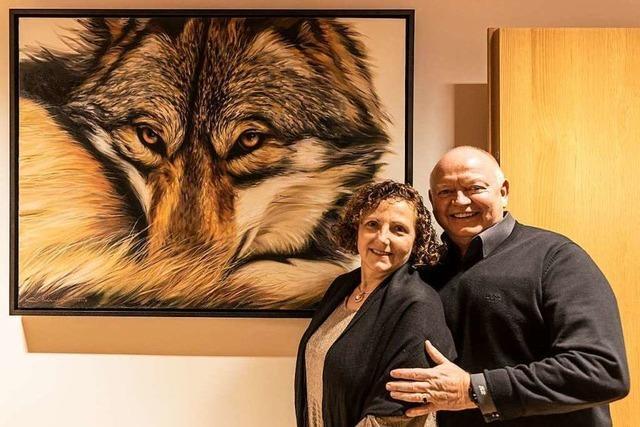 In Heuweiler zeigten Menschen ihre Lieblingsbilder von Zuhause