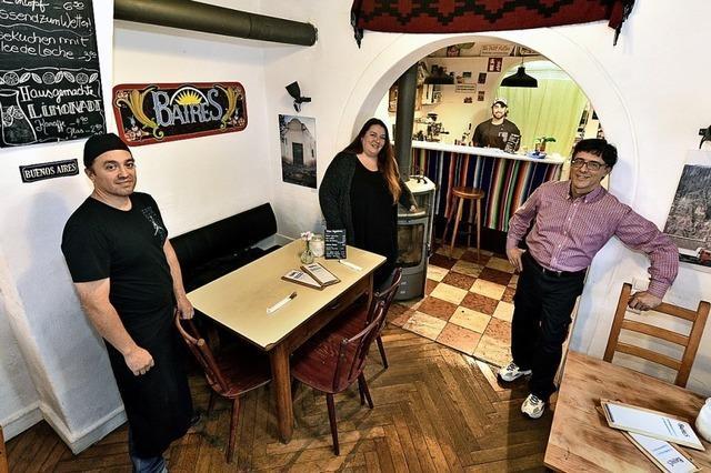 Das Baires serviert mit Empanadas und feinem Fleisch ein Stück Argentinien in der Wiehre