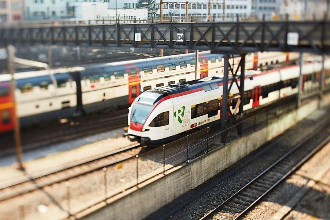 Die Regio-S-Bahn im Raum Basel ist an ...e ist zusätzliche Infrastruktur nötig.  | Foto: Agglo Basel
