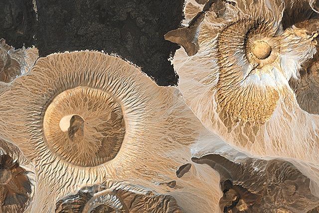 Fotos: So sehen Wüsten von ganz weit oben aus