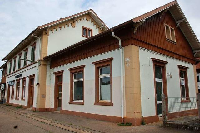 Der Abriss des Bahnhofsgebäudes in Haltingen rückt näher