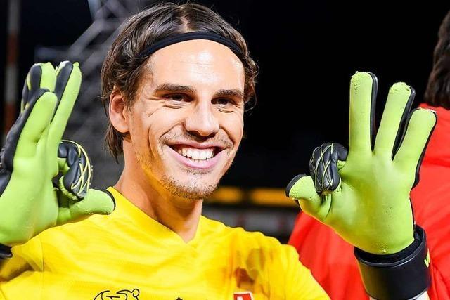 Schweizer Fußballer lösen das EM-Ticket