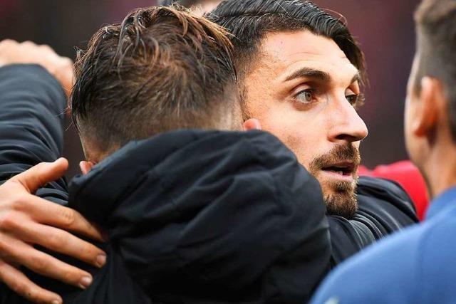 DFB-Gericht: Grifo bleibt drei Spiele gesperrt, Abraham sieben Wochen