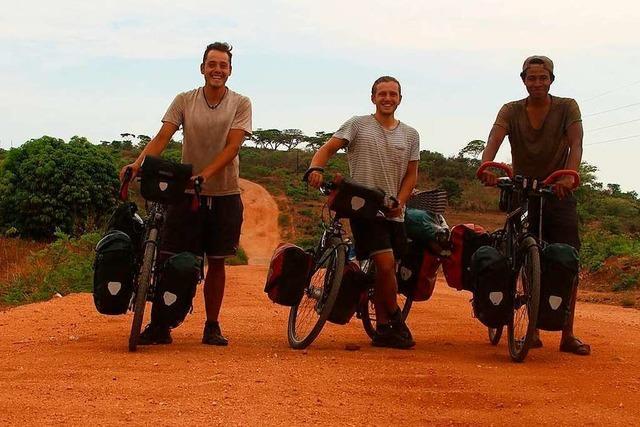 Mit dem Fahrrad durch Afrika: