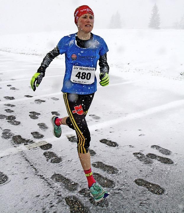 Jetzt lockt der Winter: Bergläuferin S... einem legendären Langlauf-Abenteuer.   | Foto: Winfried Stinn