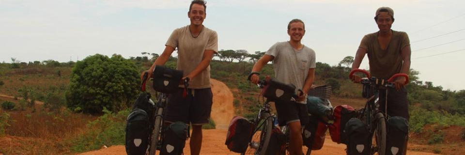 Mit dem Fahrrad durch Afrika:<br>
