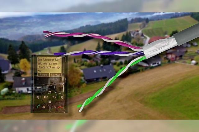 Telekom-Kunden auf dem Hotzenwald werden vom Internet abgehängt