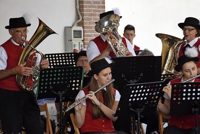 Stadtmusik zieht neue Musiker heran