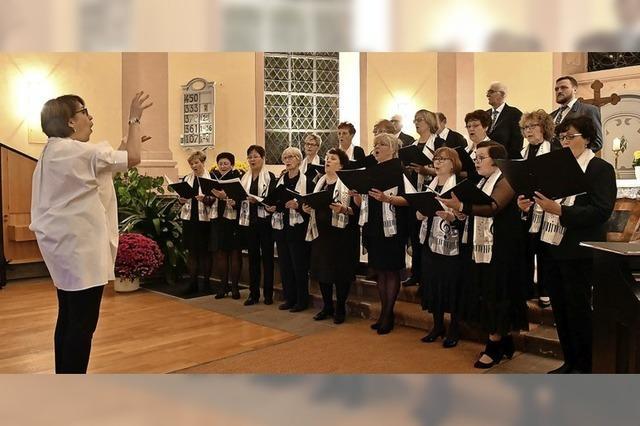 Deutsch-Russischer Chor feierte Jubiläum