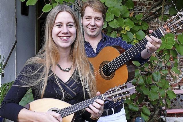 Rock, Pop und Salsa auf Mandoline und Gitarre: Konzert in Kollnau