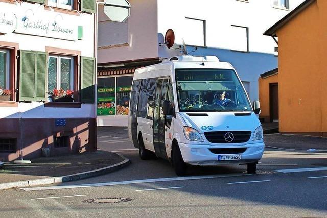 SBG und Gemeinde wollen Busverkehr in Grenzach-Wyhlen sichern