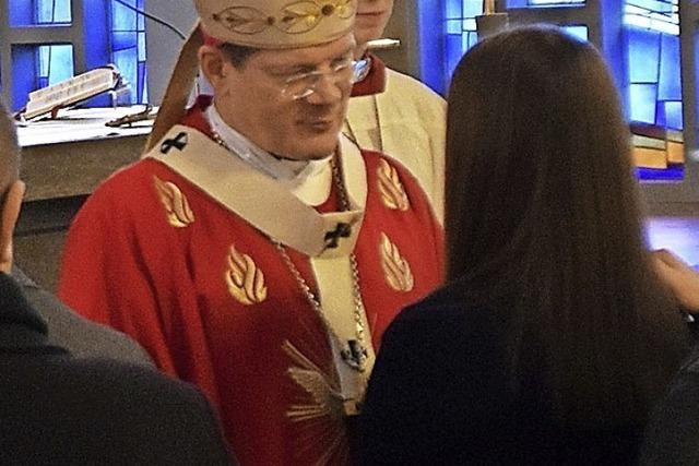 Erzbischof Burger wirbt dafür, den Glauben zu leben