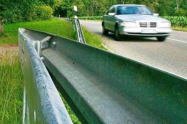 Falschfahrer auf der B 31a bei Gottenheim verursacht Unfall