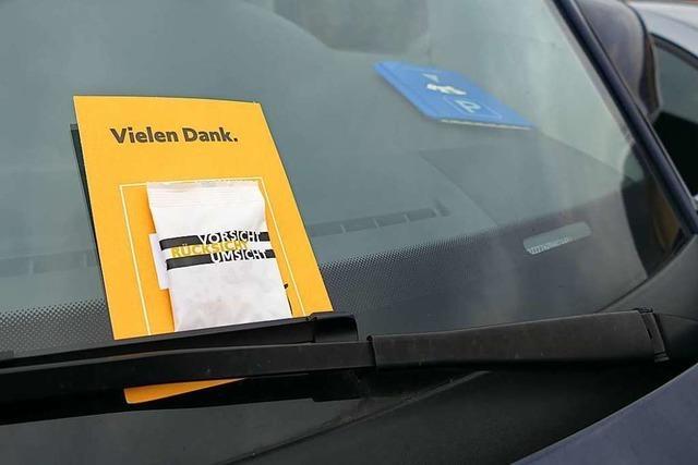 Grenzach-Wyhlen bedankt sich bei Richtigparkern