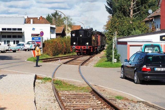 In Binzen gibt es kritische Stimmen zur Reaktivierung der Kandertalbahn