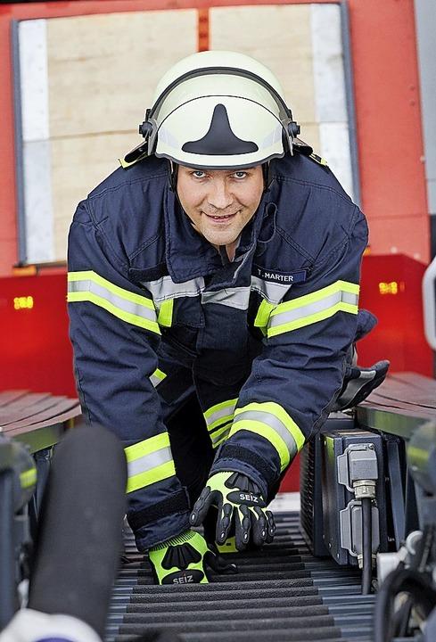 Unfreiwilliges Wehrmitglied: Thomas Marter  | Foto: Georg Wendt (dpa)
