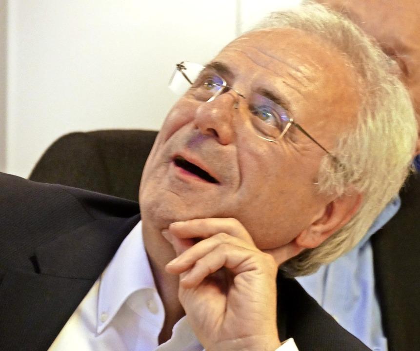 Zugänglich für viele Ideen und fast ni...: der neue SVS-Präsident Manfred Kuner    Foto: Johannes Bachmann