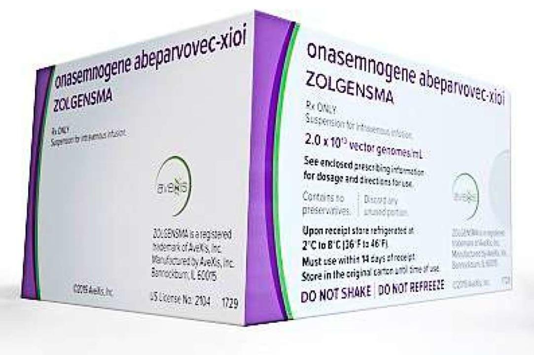 Das teuerste Medikament der Welt, Zolg...ine Spritze kostet 1,9 Millionen Euro.  | Foto: novartis
