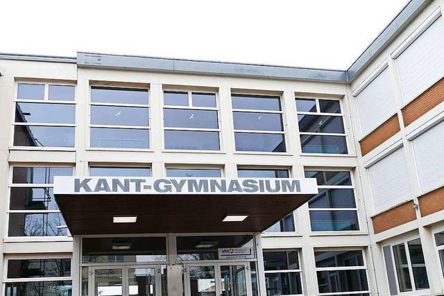 Wegen des Brandschutzes sind Bauarbeiten im Kant-Gymnasium notwendig