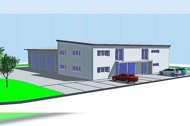 Schwanau investiert in das neue Gerätehaus der Feuerwehr