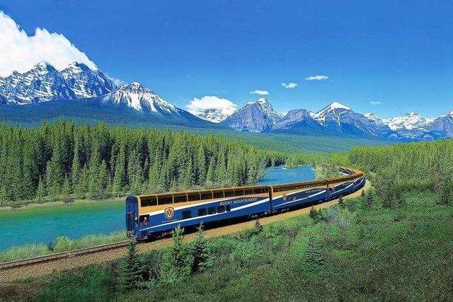 Mit zwei Zügen durch das wilde Kanada