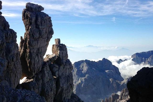 Zu Fuß von Meran über die Alpen zum Gardasee