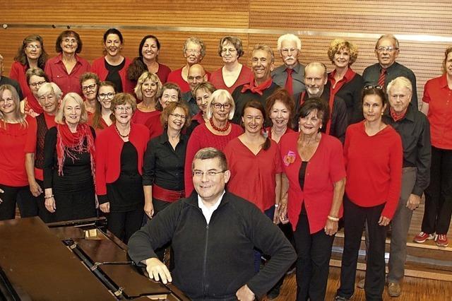 Schwelgen in alten Schlagern: Das Jahreskonzert von Chorioso