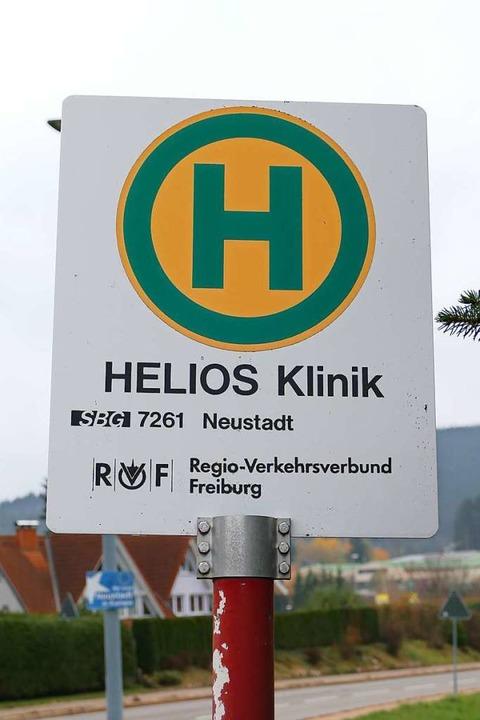 Fällt die Linie von Titisee nach Neust...lle Helios Klinik nicht mehr bedient.   | Foto: Tanja Bury