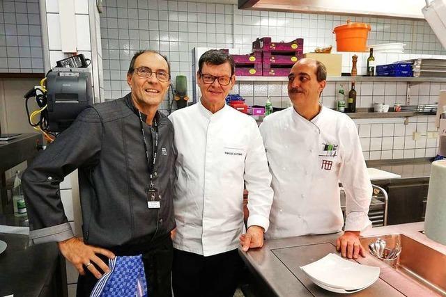 Seite an Seite mit Harald Wohlfahrt für die Bambi-Gäste kochen
