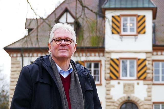 Ortsrundgang durch Schliengen mit Bürgermeisterkandidat Claus Czisla