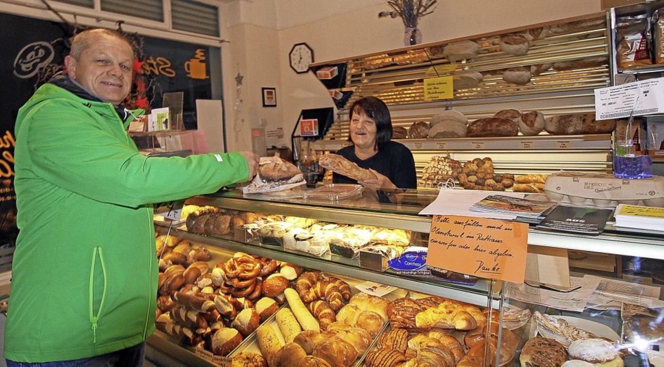 Dank des Bischoffinger Dorfladens gibt...t  Grundnahrungsmitteln zu versorgen.   | Foto: Herbert Trogus