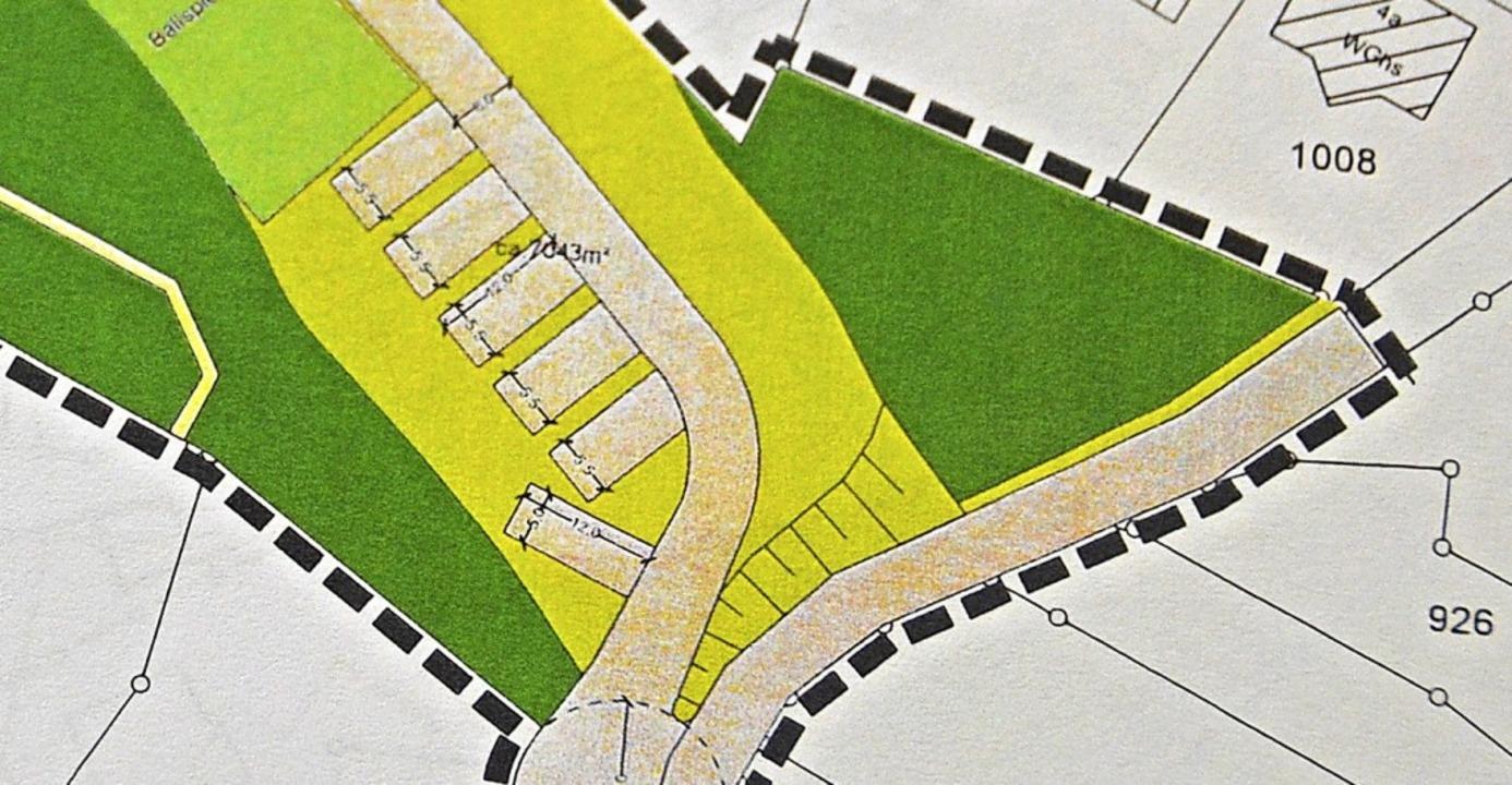 Sechs Wohnmobilstellplätze sollen in H...Ursprünglich waren 15 Plätze geplant.   | Foto: Christiane Sahli