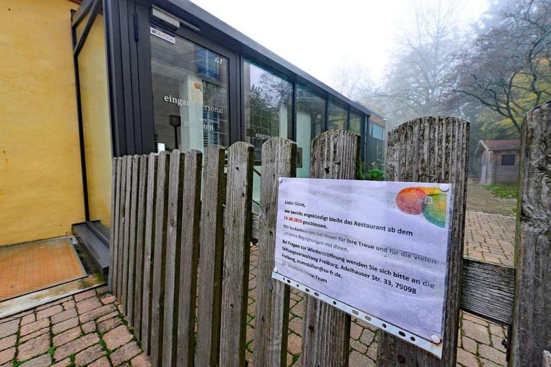 Für das beliebte Ausflugslokal am Schö...ühjahr soll das Lokal wieder eröffnen.  | Foto: Ingo Schneider