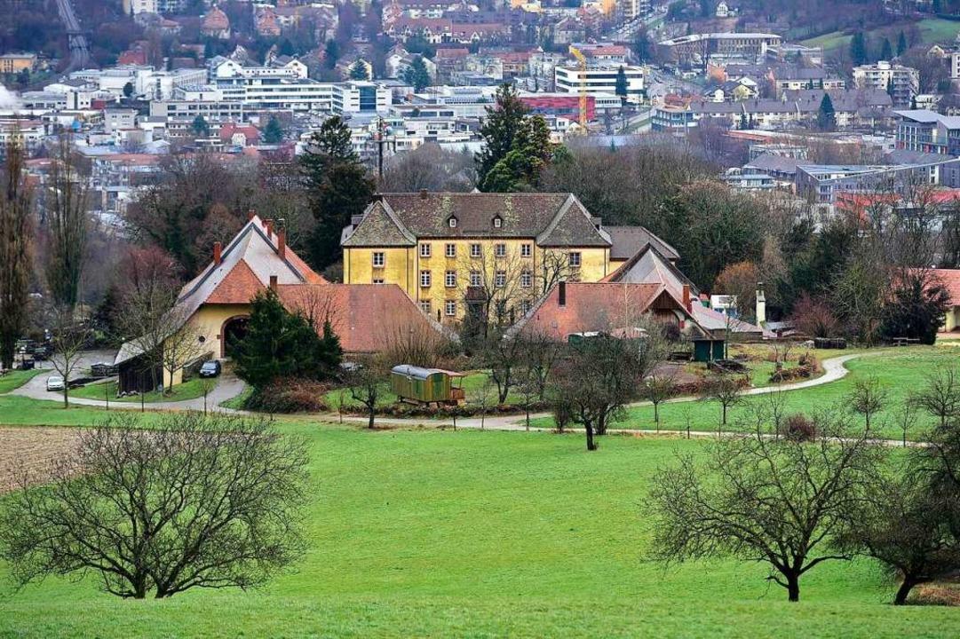 Lage mit Ausblick: In den vergangenen ...der Pächterwechsel im Jesuitenschloss.  | Foto: Thomas Kunz