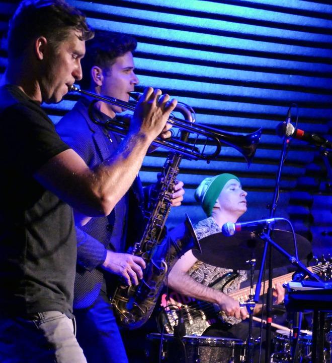 Kneebody im Jazzhaus in Freiburg  | Foto: Wolfgang Grabherr