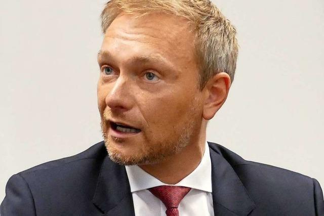 Partei-Chef Christian Lindner: