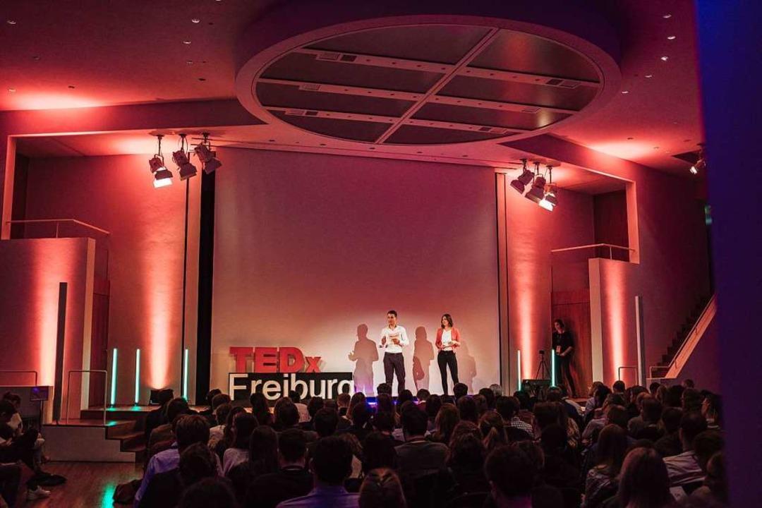 Die TEDx-Veranstaltung 2018    Foto: Fabio Smitka