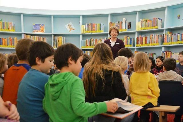Bibliothekarin Andrea Strecker weiß, wie man Kinder zum Lesen bringt