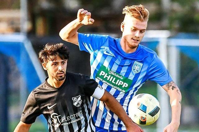 Mohamad Kassem arbeitet sich mit Bosporus FC Friedlingen nach oben